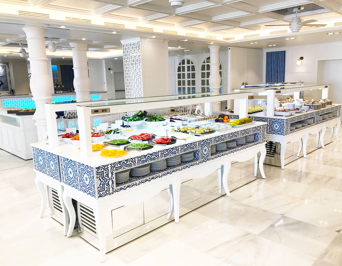 King S Buffets Modular Series Buffets Station Buffets And Show Cookings