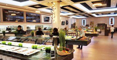 """PROFUZION – """"Una Gran Instalación De Buffets Para Un Gran Restaurante Wok En Francia"""""""