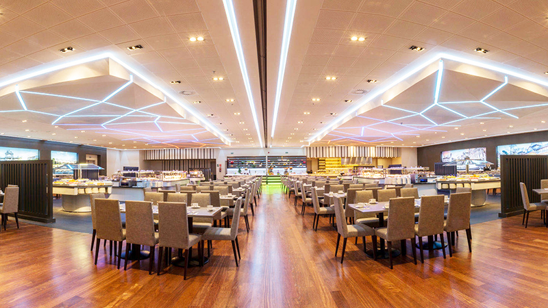The Buffets Of The Auditórium Hotel Of Madrid Turns 16 Years At Full Capacity