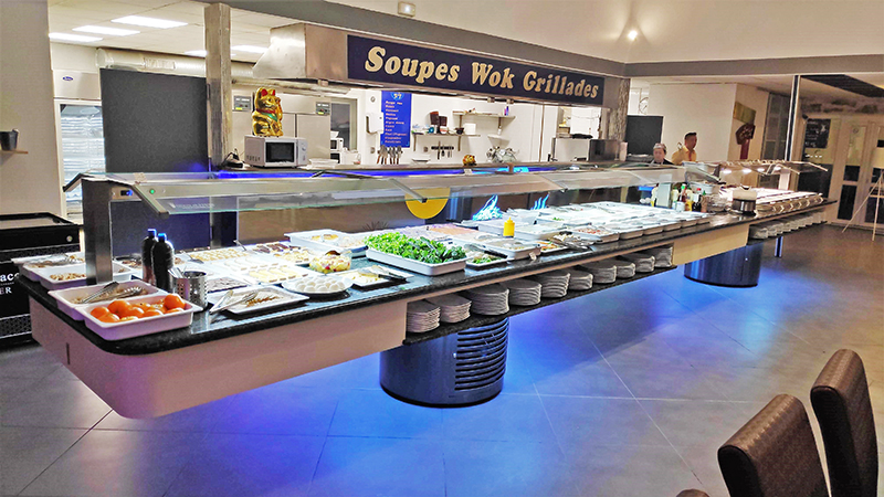 The Largest Z Series Buffet For The Wokery Restaurant In Marseille