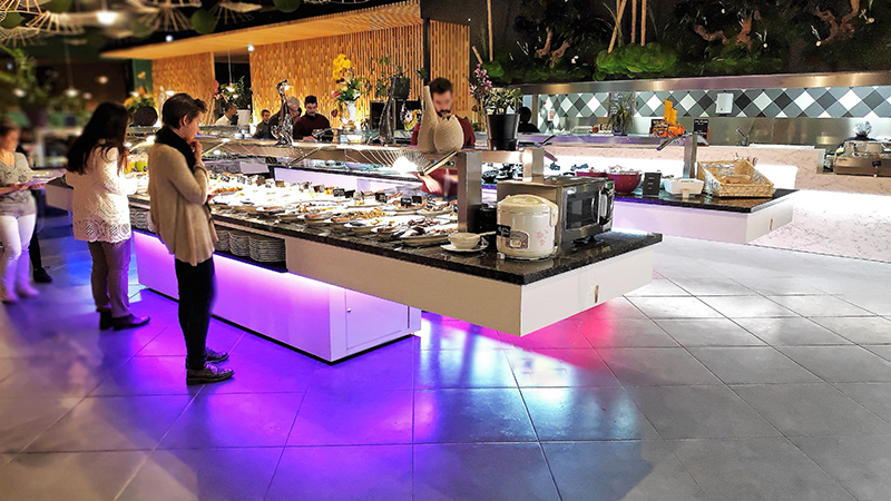 The Buffet Is A Solution For Seasonal Hotels