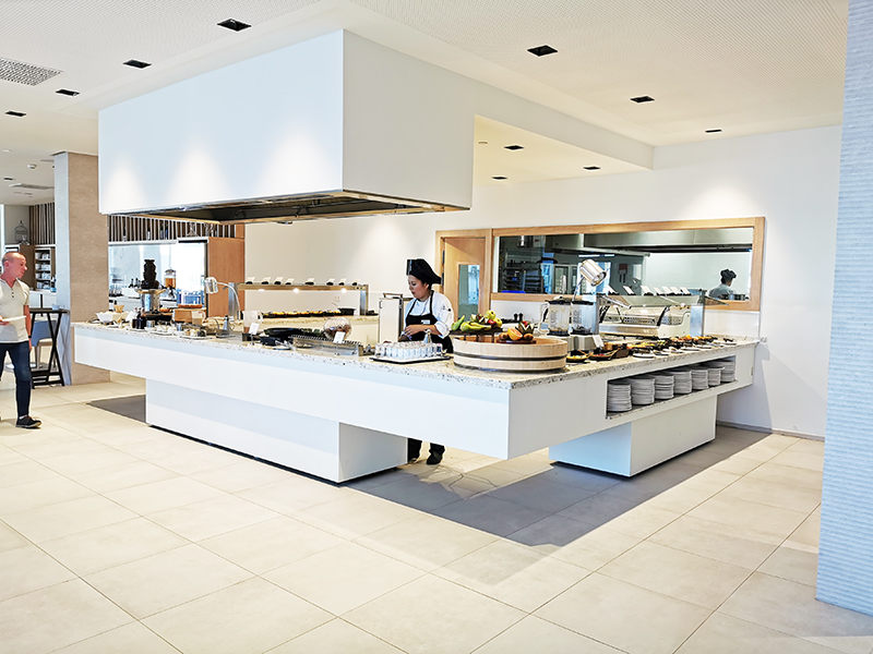 We Incorporate News And Maximum Technology In Buffets For The Lava Beach Hotel In Lanzarote